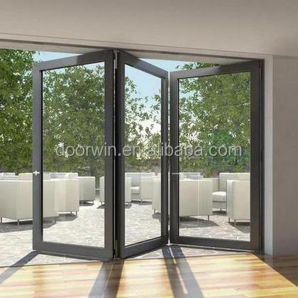 Aluminium Sliding Door Garden Folding Grill Door Buy