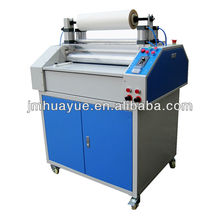 best quality pneumatic bopp film patterns roller laminating machine