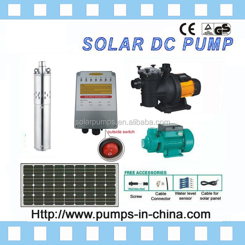12v solar panel prices / solar powered pumps / water solar pump / 24V, 36V, 48V, 72V, 216V, 288V