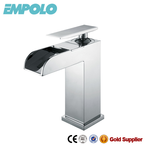 Polished brass high waterfall dragon faucet 81 1102