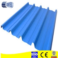 pre-painted/galvanized Corrugated Sheet Metal Roofing/Cheap Coated Roofing Sheet Classical Type