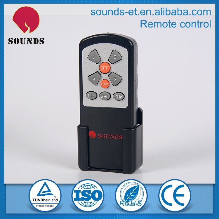 High tech molded remote controller,nice celling fan remote controller