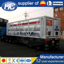 Convenient skid cng trailer / hydrogen tube trailer / semi trailer for transportation