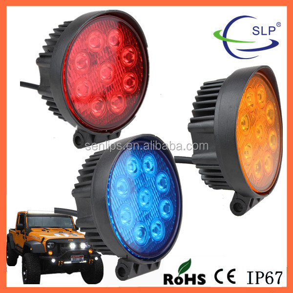 SENLIPS Provided Round 12V 27w led work light for Auto