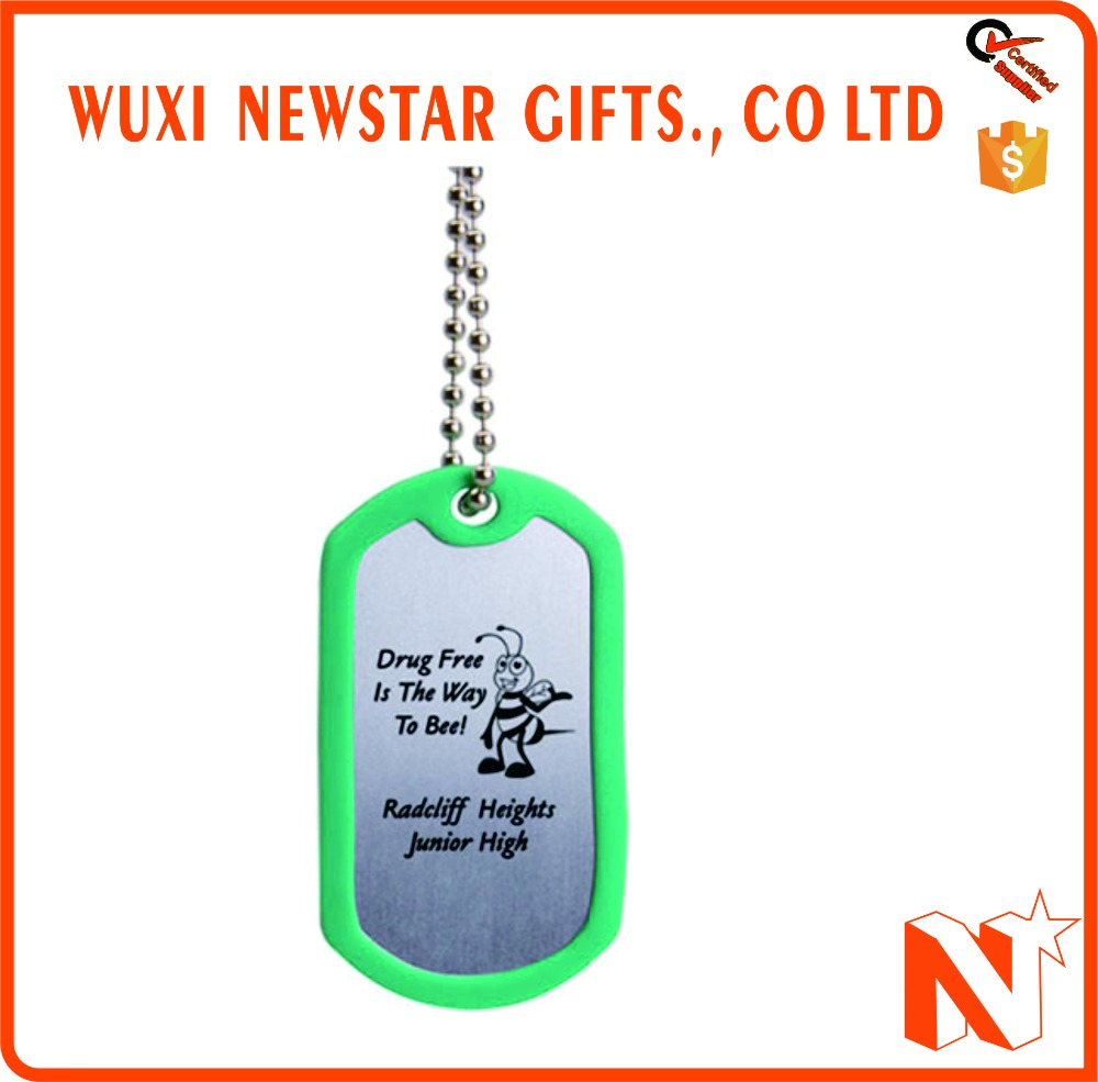 Promotional Anodized Aluminum Dog Tag