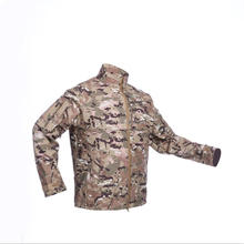 Outdoor hunting jacket softshell bomber jacket for men