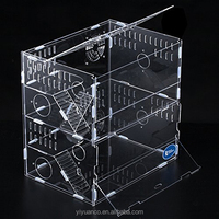wholesale custom clear acrylic hamster cage