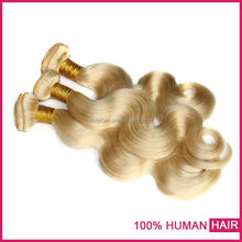 Top alexpress selling hair weaving remy russian blonde hair extensions 100% russian remy hair extensions