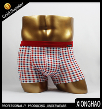 95% bamboo fiber and 5% spandex sexy red v shaped underwear for men