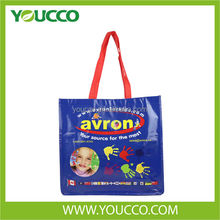 Laminated Non Woven Shopping Tote Bag Biodegradable Bag Carrier Bag