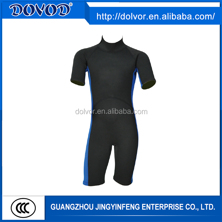 Waterfproof type and diving surfing diving neoprene wetsuits wholesale price shorty wetsuit