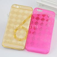 Luxury diamond pattern flash powder Bling Bling TPU Case for Asus Zenfone 6 Cover