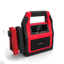 CARKU 24 volt battery booster jump starter pack with 12V for heavy duty truck, semi and big tractor