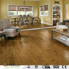 Wood pattern fiberglass backed vinyl flooring
