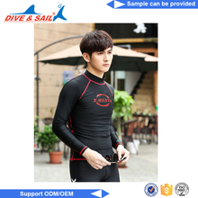 UV Protection Rash Guard for Men compression shirt cotton bamboo rash guard