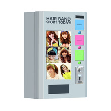 Multi-function automatic Up to 3 Selections Hair Band Vending Machine with display window