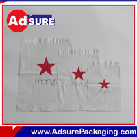 Plastic custom frosted mail bags foil shipping bags for clothing book packaging mailers