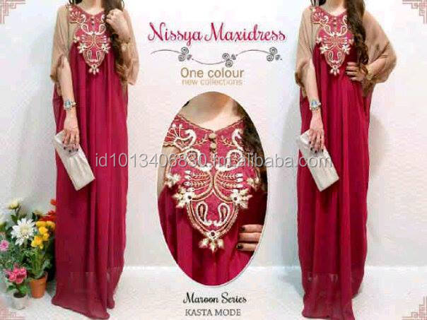 Nissya, Sweet Kaftan Style From Indonesia