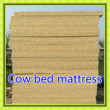 2015 China main manufacturer of comfortable Cow bed mattress cow pillow mats for dairy