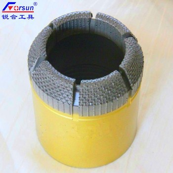 PQ HQ NQ BQ Surface Set Diamond Core Drilling Bits