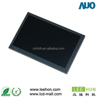 AUO brand G070VW01 V0 7 inch lcd panel lvds ROHS compliant 800x480 resolution for industrial application