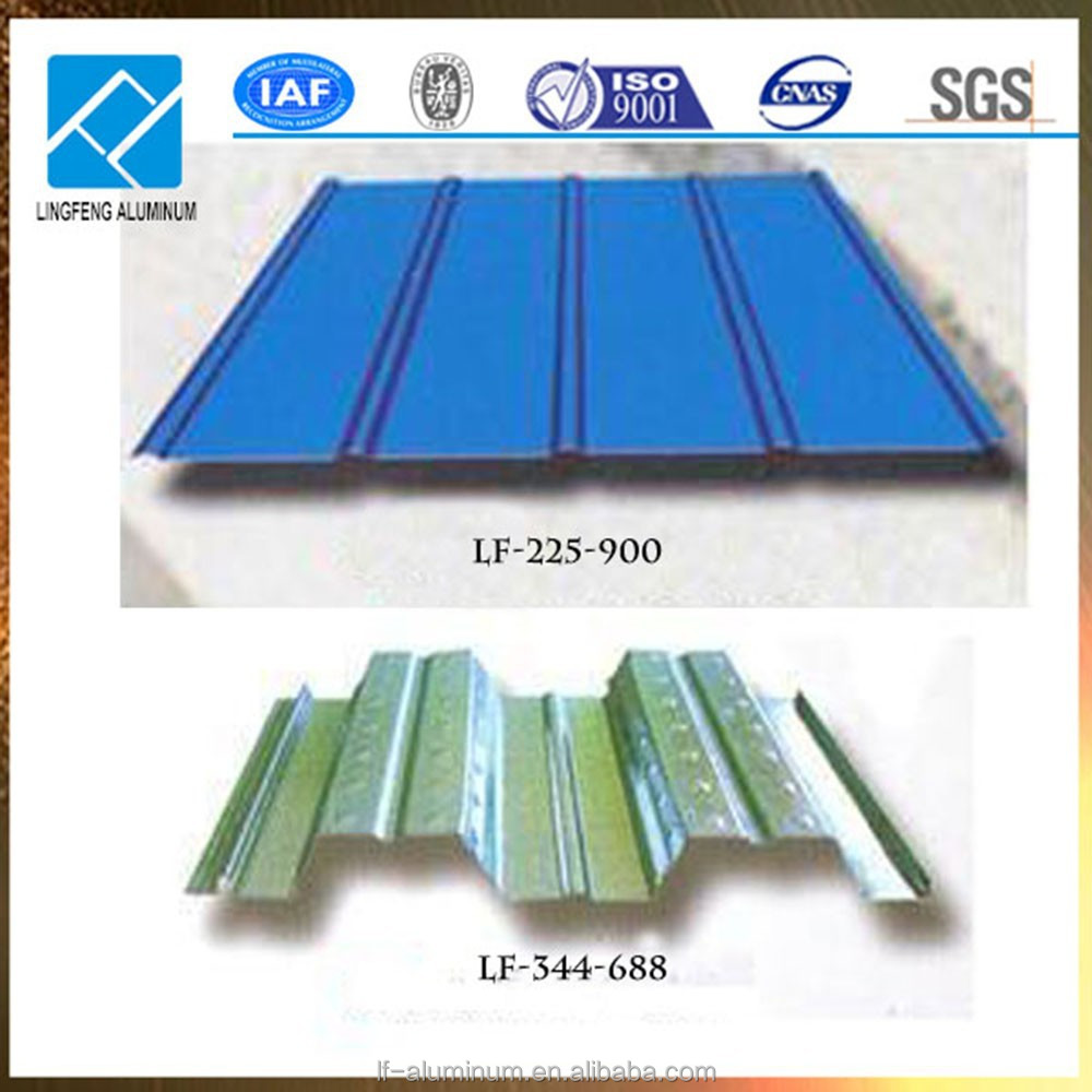 Aluminum Corrugated Roofing Sheets for Roofing of workshop