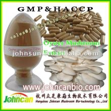 Oyster mushroom powder, low heavy metal
