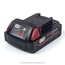factory price 18v 2ah 3ah 4ah power tools battery for 48-11-1840 M18