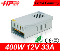 High quality cctv power supply constant single output constant voltage 400w 12v 220v ac to dc converter power supply