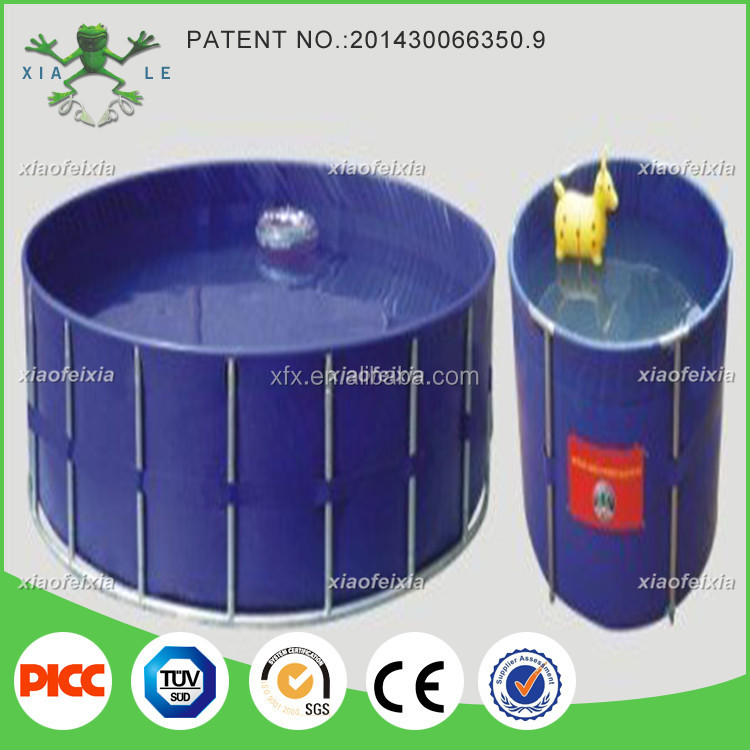 outdoor rubber swimming pool with factory direct price