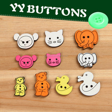 different types resin garment button for diy sewing