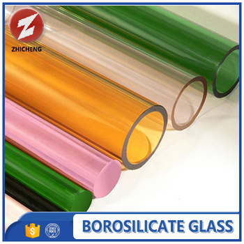 all kinds of colored glass tube for lighting