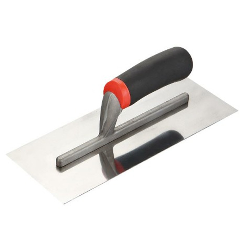 Construction tools Stainless Steel  Notch Trowel,Plastering Trowel T-07
