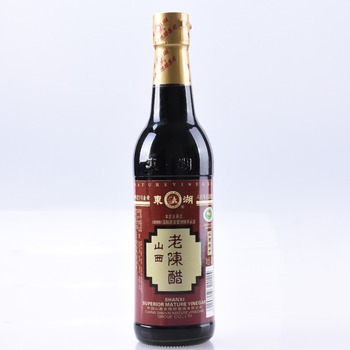 local food products Shanxi mature vinegar 420ml