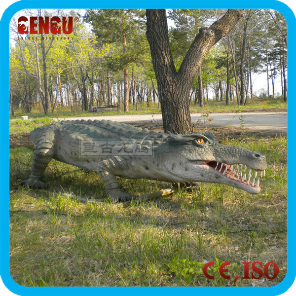 Animatronic Crocodile Walking Animal Model