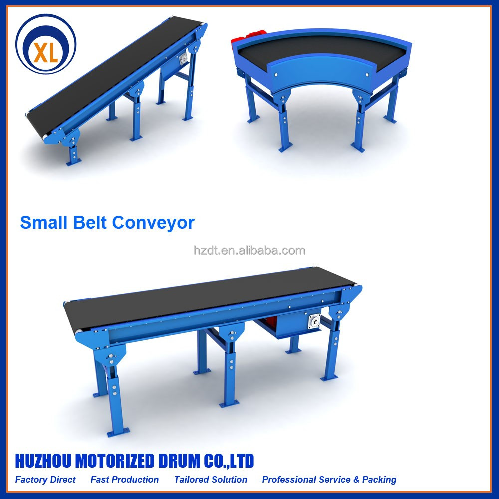 small belt conveyor, granular materials transportation used factory direct supply small belt conveyor