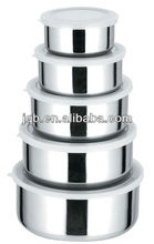stackable stainless steel food container set