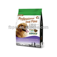Pet Food dried kibble for adult dogs