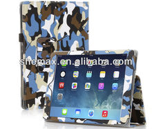 PU Leather Folio Stand Camouflage Case Cover For Apple iPad Air 5 5th Gen