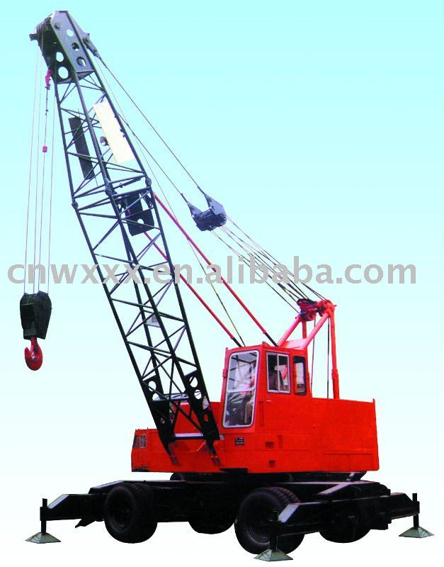 25T Electric Tyre Crane