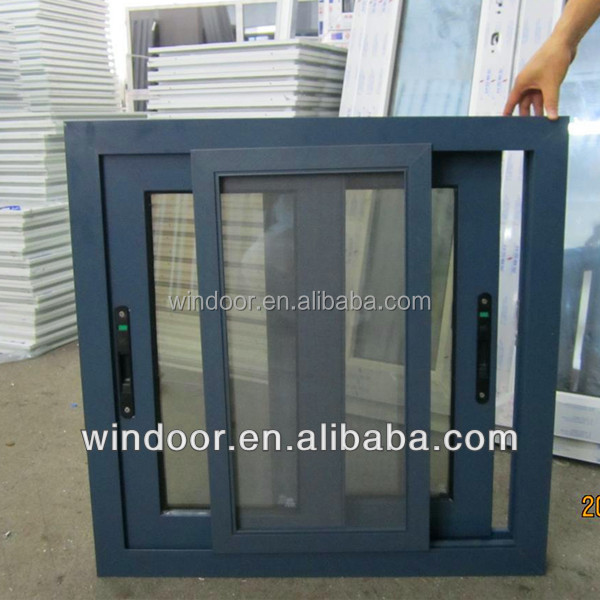 Aluminum alloy profile window cottages, residential aluminum window with germany hardware