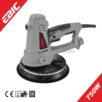 orbital sander for drywall. ebic power tools 750w 180mm electric wall sander drywall orbital for a
