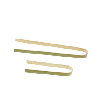 BBQ high quality bamboo food tongs