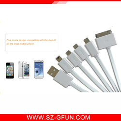 2016 Hot Company Promotion Gift Item Factory OEM Logo Original USB Cable Micro-USB2.0 Micro/i5/i6/6s Cable Data Sync Charger