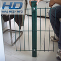Counter bending galvanized fence panel triangle bend welded wire mesh industrial fence