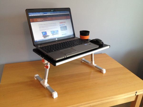 computer desk reading table with cooling fans