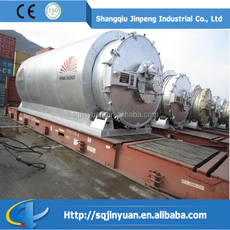 Batch Type Used Tire Recycling Machine with CE
