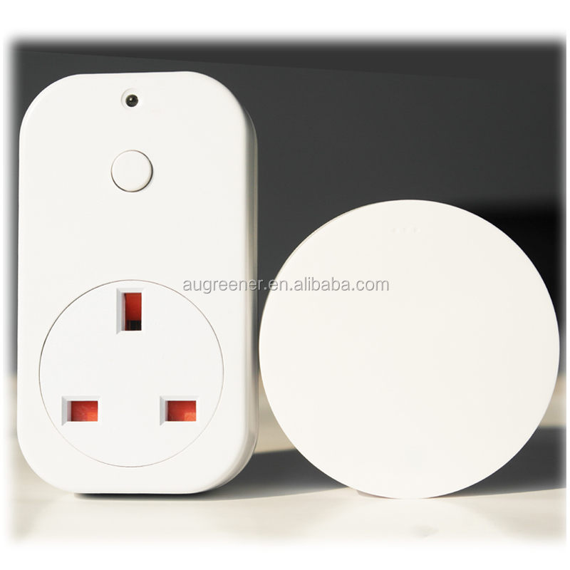 Battery - free Smart Outlet US UK EU AU FR Socket Plug Outlet Type Wireless Remote Control socket