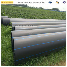 large diameter plastic polyethylene pipe hdpe pipe 600mm 900mm for drainage water