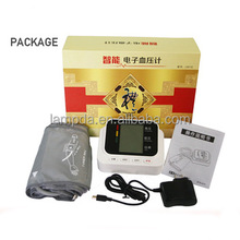 fully digital lcd display function blood pressure apparatus with pulse oximeter
